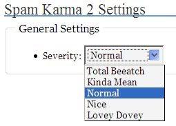 Spam Karma