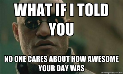 and Morpheus knows it