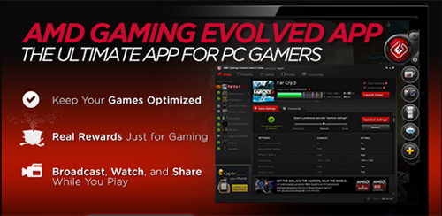 AMD Gaming Evolved App