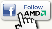 Follow AMD on Facebook