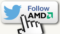 Follow AMD on Twitter